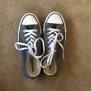 Grey Converse Chuck Taylor All Star size 7.5